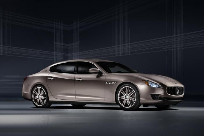 Limited Edition Maserati Quattroporte Ermenegildo Zegna. Available early 2014, V6 & V8 model costing £80,095 & £108,160
