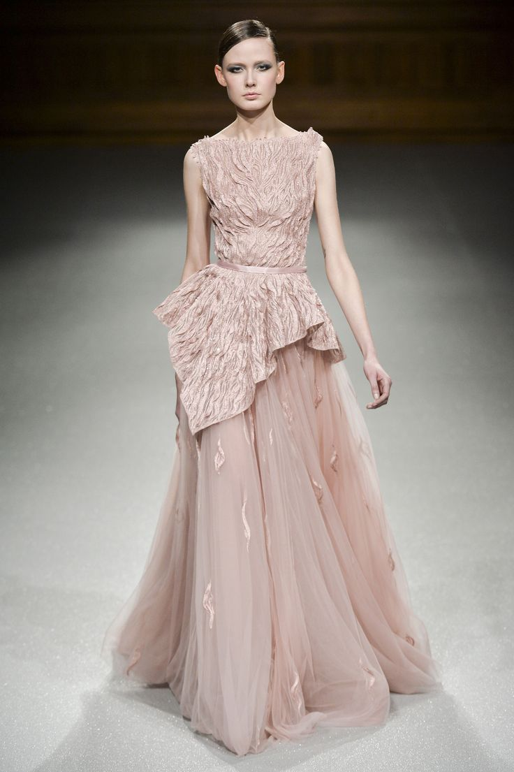 Tony Ward haute couture wiosna-lato 2015, fot. Imaxtree