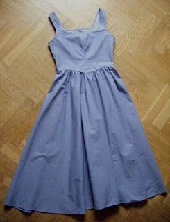 Belle's blue provincial dress. I think I'll be making this for everyday wear!