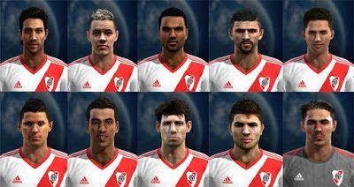 Actualizacion Pes 2013: Facepack River Plate - Liga Argentina Pes 2013
