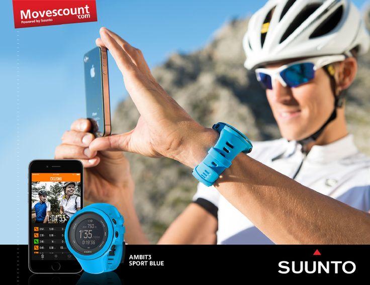 Suunto App Movescount Ambit3 Sport Blue