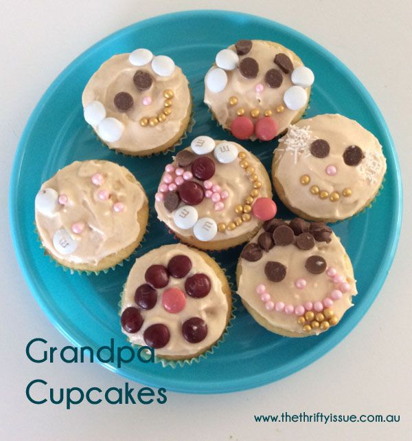 For some reason each year we manage to forget Grandpas birthday, it's in my calendar but always sneaks up on us. This year we remembered the night before and as he was coming in the morning the kids and I whipped up a batch of Grandpa Cupcakes to make him feel special. We tried our ... [Read more...]