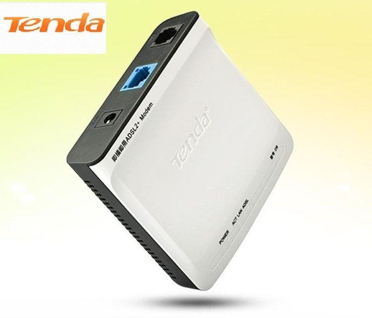 Tenda D8 High Speed DSL Internet Modem ADSL 2+ Wired Router ADSL Broadband Modem #Affiliate