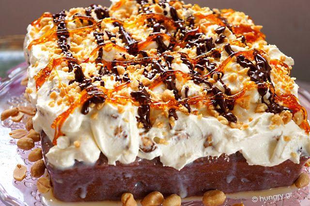 Kitchen Stori.es: Τούρτα Snickers με Φιστίκια