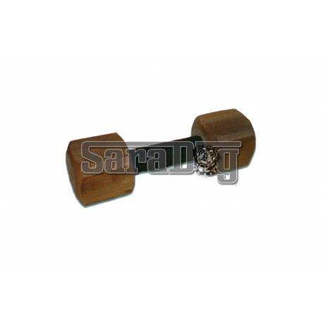 Aport confectionat din lemn IPO 650g cu suprafata de prindere din piele