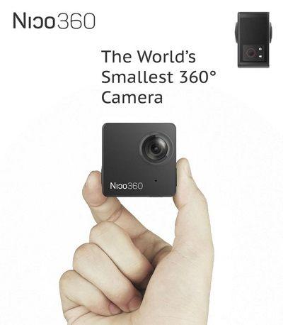 とっても安いのに360度動画撮影可能! 無線LAN対応・ライブ・ストリーミング可能な防水型全方位アクションカメラ『Nico360』 | ガジェット通信