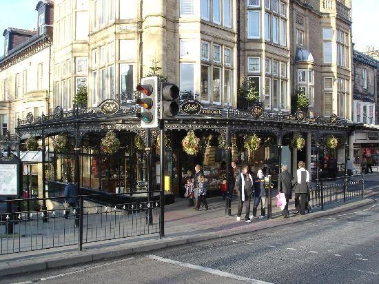 UK's best-rated tea room...Betty's Cafe Tea House, Harrogate