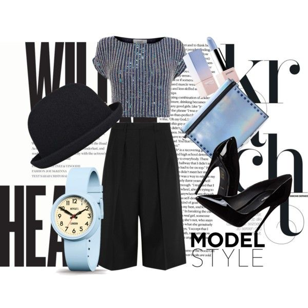 Blue light fashion by tamaraispeople on Polyvore featuring beauty, Sephora Collection, kangol, Newgate, Mohzy, Coast, Jil Sander and Dolce&Gabbana