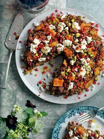 Persian squash & pistachio roast