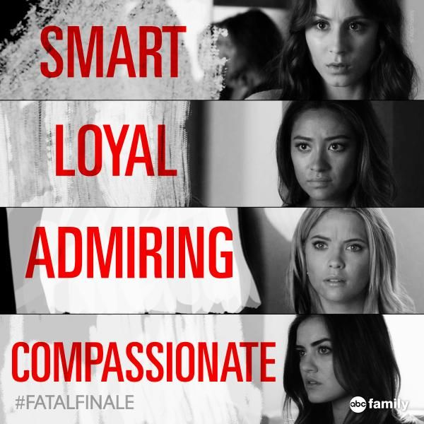 "S5 Ep12 ""Taking This One To the Grave"" - She assembled the perfect group... #PLL #FatalFinale"