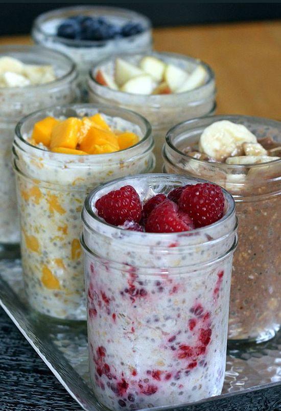 6 Flavor Varieties of Refrigerator Oatmeal | JuJu Good News