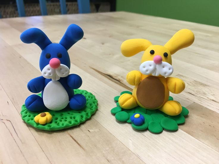JumpingClay bunnies