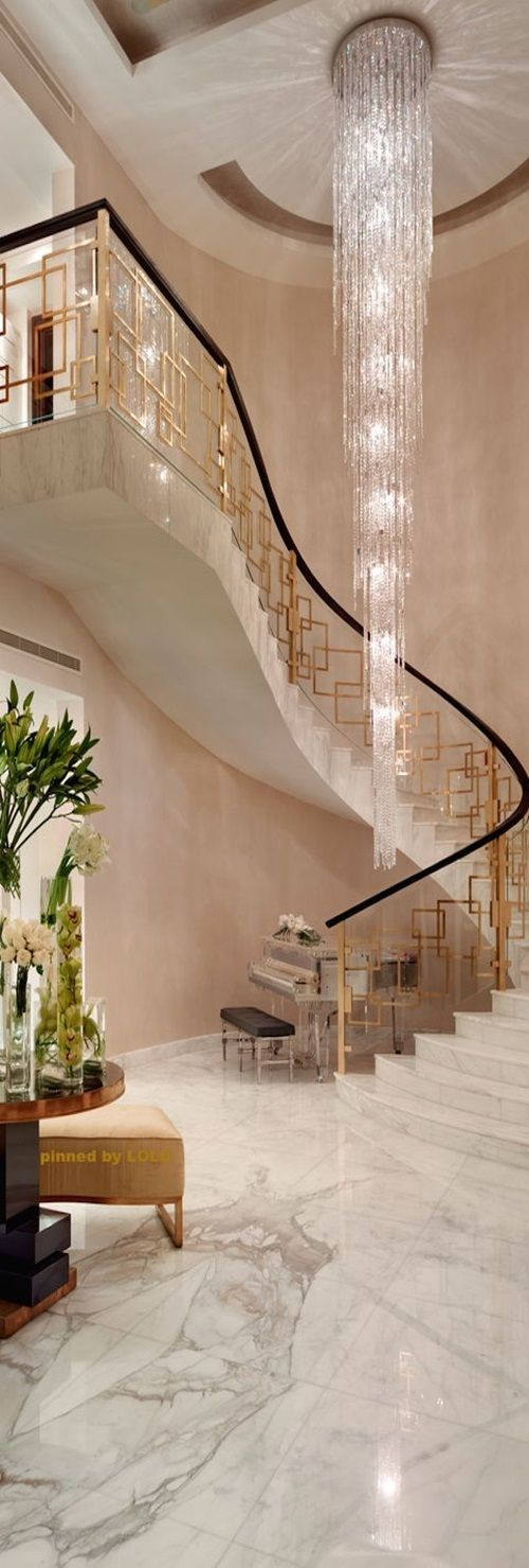 home interior design stairs%0A The luxurious staircase will add an impressive  glamorous  and  sophisticated look to your home  The available designs for such luxurious  staircases will