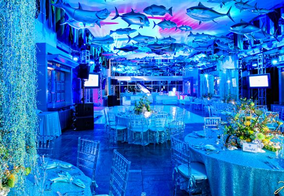 An Under the Water themed Bar Mitvah or Bat Mitzvah is a great way to cool down in the Summer. Here are some unique ideas we have used to create an  an underwater paradise. Bar Mitzvah at the PGA Fishing Hall of Fame. Blue lighting is the essential for an Under the Water themed event.  […]