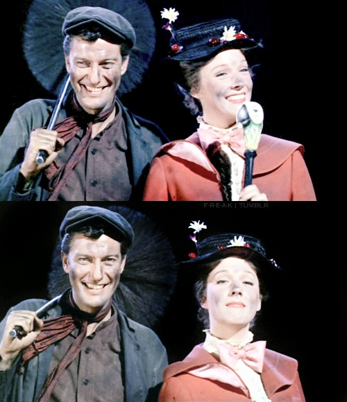 Behind the scenes of Mary Poppins 1964