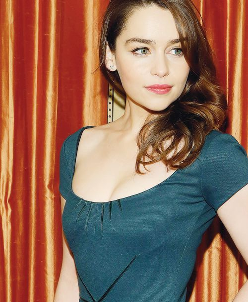 Emilia Clark- not quite sure who she is