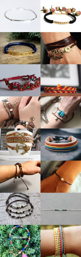 Find little treasure on your arms! (under $20)   by Fumiko Motooka on…