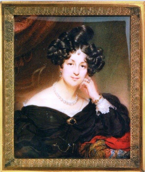 Елизавета Ксаверьевна Браницкая, в зам. Воронцова (1792 -1880).