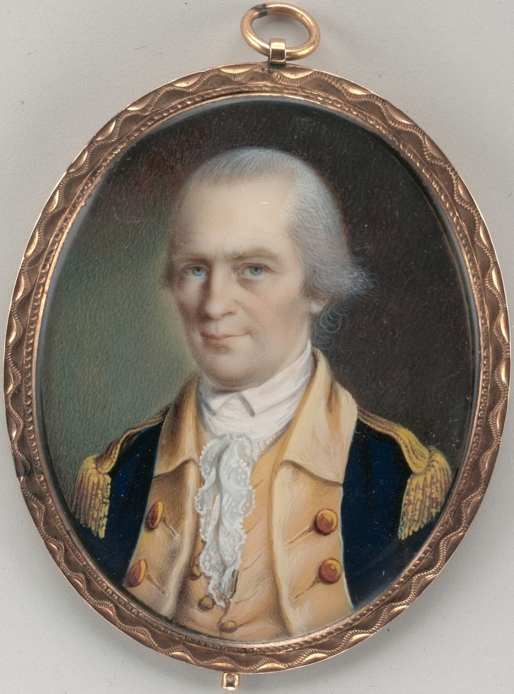 George Clinton (1739-1812) was elected governor of New York State in 1777 and held the post for six successive terms.  He later served as vice-president under Thomas Jefferson (in his second term) and James Madison