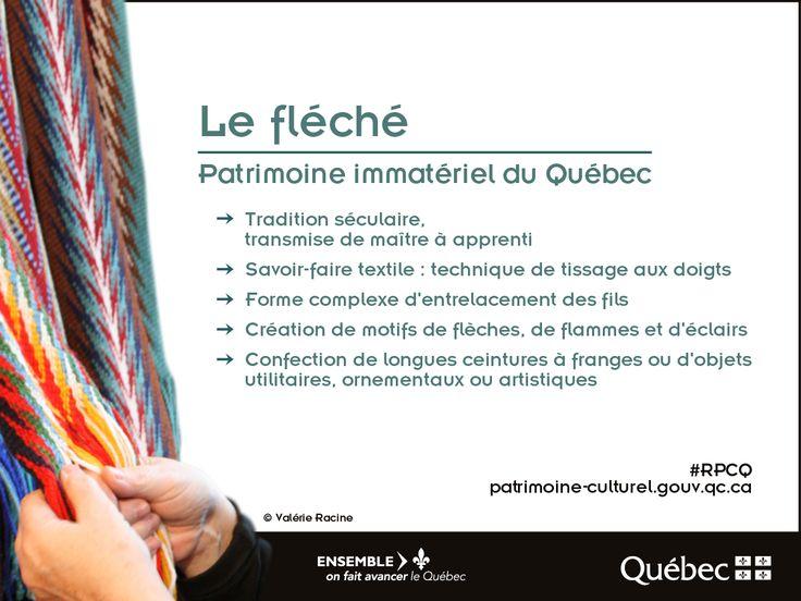 Le fléché, désigné comme élément du patrimoine immatériel du Québec. #RPCQ #patrimoineimmatériel #patrimoineQc