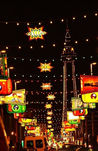Blackpool Illuminations are an absolute must see for any hen party visiting during the winter months
