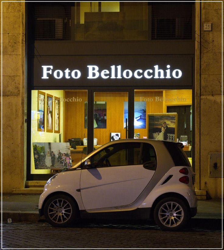 Фотоателье. Вечерний Рим.