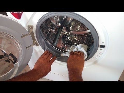 how to clean out washing machine