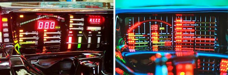 Custom dashboard from Mark's Custom Kits - Digital Dashboards of the 1980s - Dark Roasted Blend