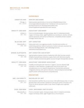 Best Resumes Images On   Resume Resume Ideas And