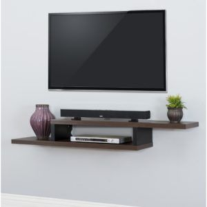 Flat Panel Tv Wall Mount With Component Shelf