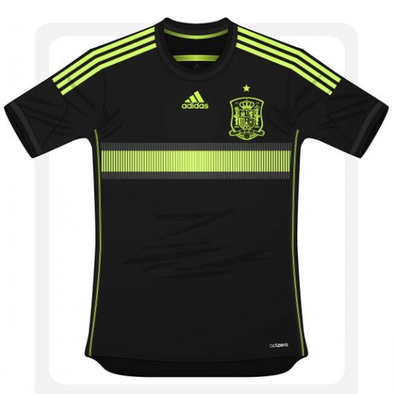 Camisa da Espanha Copa 2014 segunda 570x570 Camisa da Espanha Copa 2014