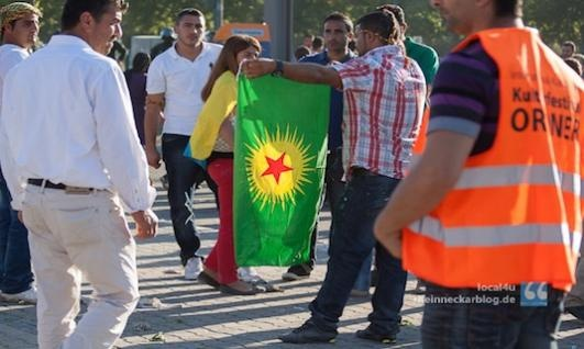 German Official Wants to Ban Kurdish Organizations after Unrest
