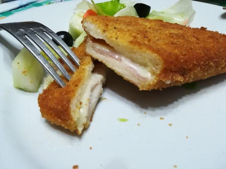Pane in carrozza - czyli kanapka w panierce