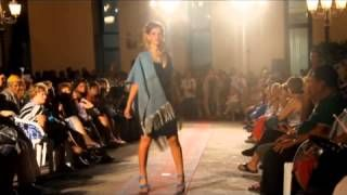 2012 08 03 Sfilata di moda della Ricamarte in Piazza Duomo a Cefalù.   Servizio di Armando Geraci e Cefalusport.