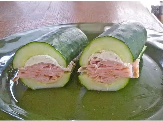 Photo of the 2012 'cucumber sub' trend, which was a much more significant trend than Dimopoulos's 'blue trees', according to the Trendhunter website.