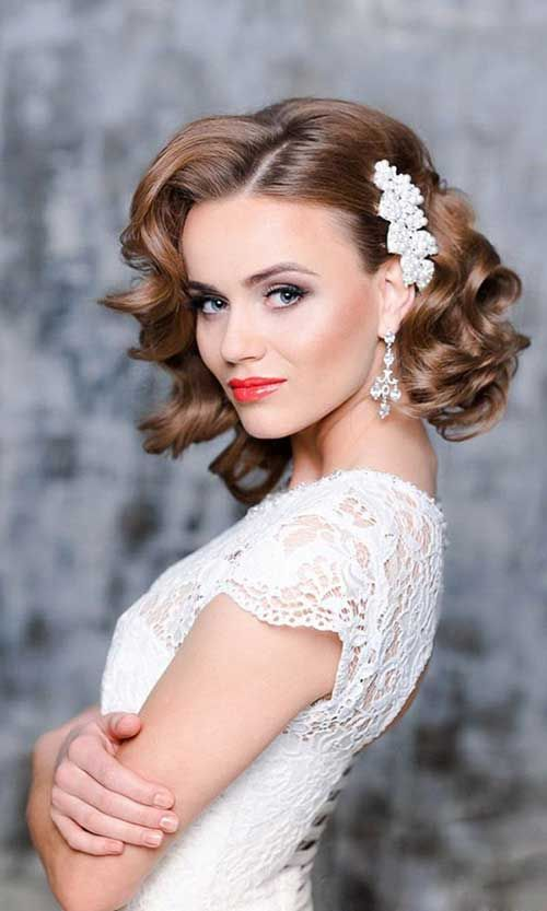20 stylish wedding hairstyles