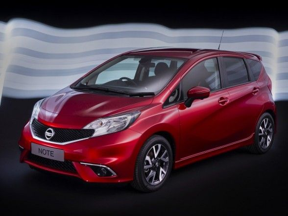 Nissan, Astonishing 2014 Nissan Note Front Side Red: Amazing 2014 Nissan Note Car