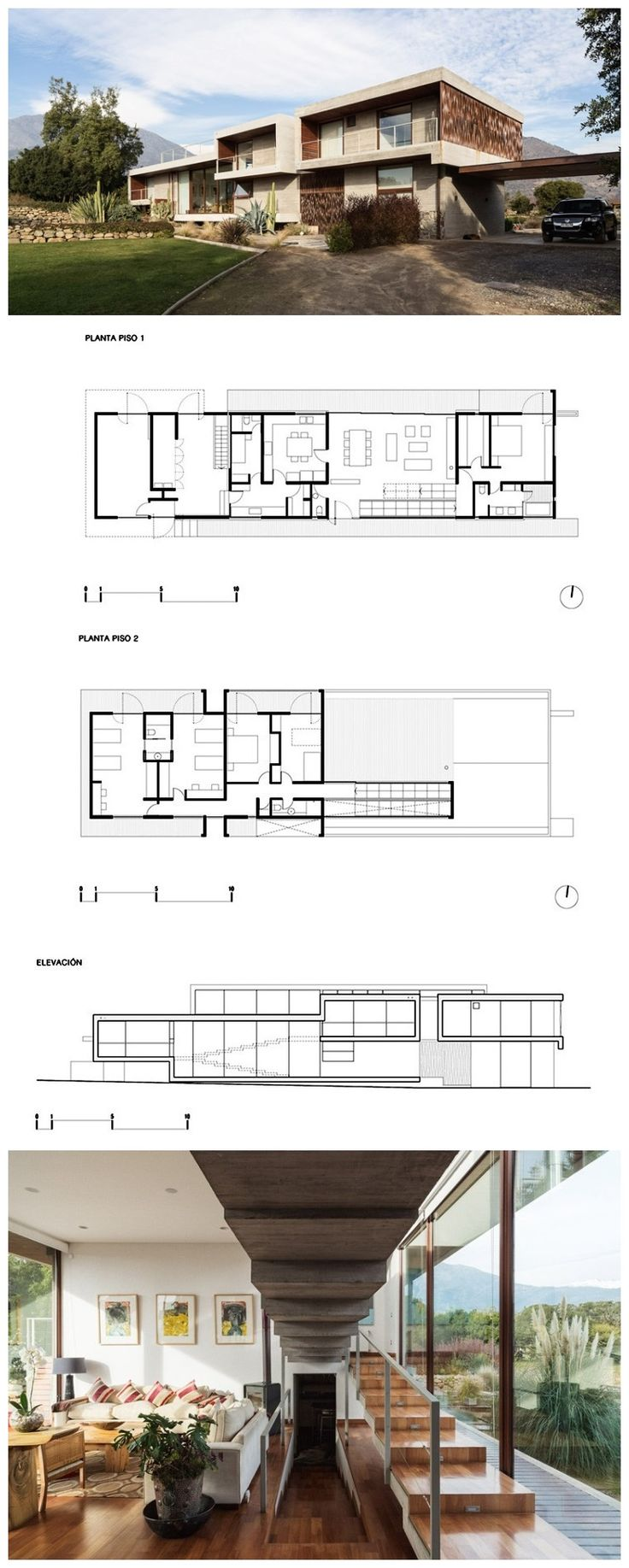 335 best f l o o r p l a n s images on pinterest architecture corredor house by chauriye stager architects