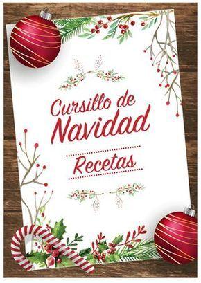 Recetario Cursillo de Navidad 2016 - LOS JARDINES