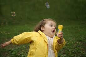 little girl running meme - Google Search