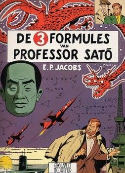 Blake and Mortimer : The 3 Formules of proffesor Sato