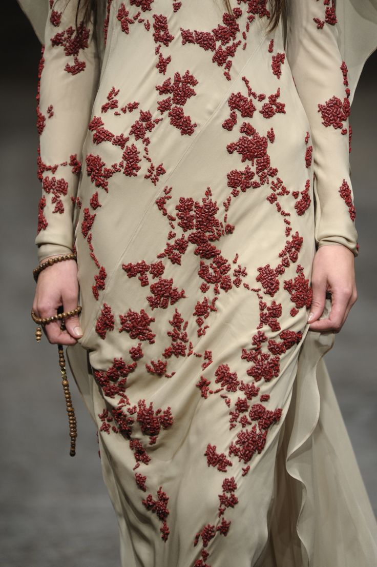 Paillette Details of Chadwick Bell Spring 2011