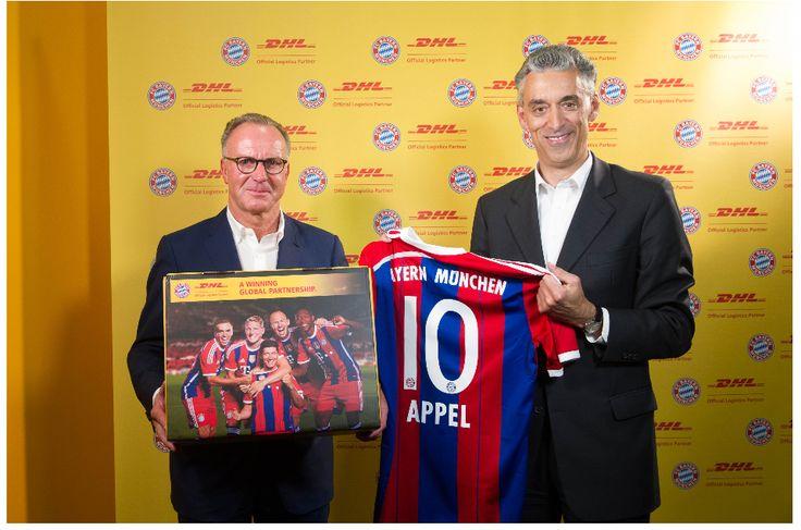Nuevo acuerdo de colaboración entre el Bayern Munich y DHL http://www.avancecomunicacion.com/sala-prensa/nuevo-acuerdo-de-colaboracion-entre-el-bayern-munich-y-dhl/ #logística