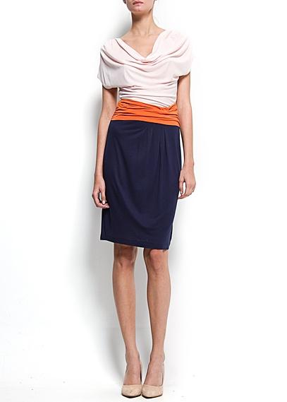 MANGO - NEW! - Draped sash dress