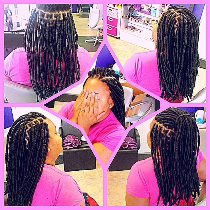 Faux Locs Marley Locs protective styles silky dreads natural hair braids dreads dreadloc extensions loc extensions