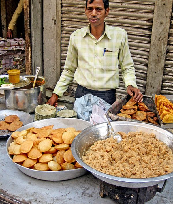 Interesting Street Food From Around The World - India!