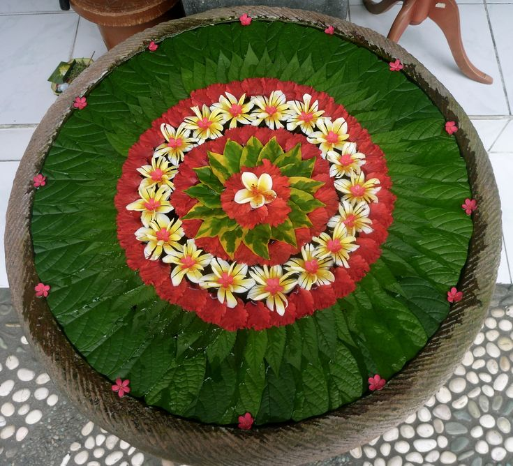This was outside a shop in Bali as it appears that decoration and presentation are so much part of the Balinese culture.