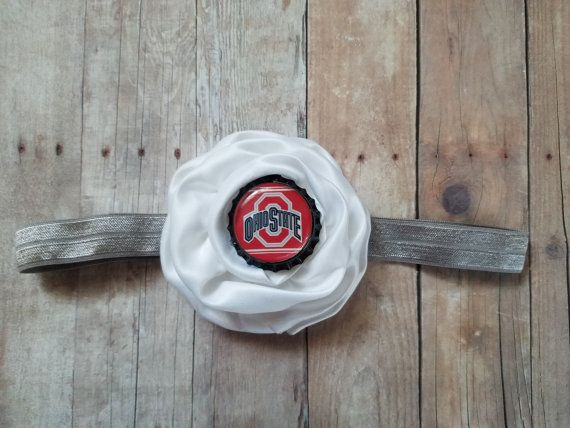 Ohio State headband-baby girl Ohio state by CocoandEllieDesign