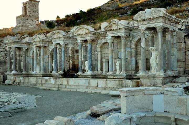 Nymphaeum in Sagalassos.Turkey.