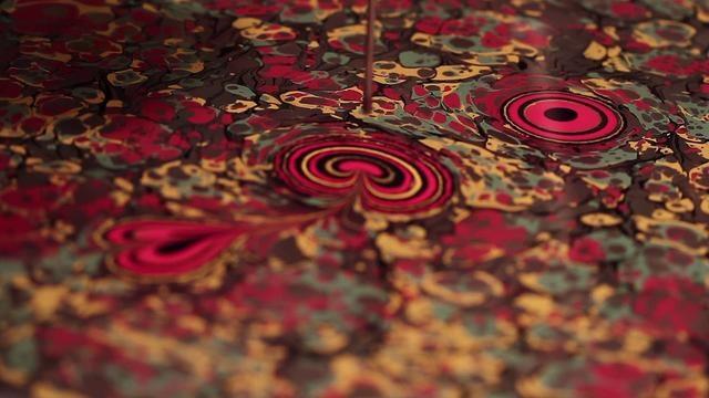 Seyit UYGUR { Ebru Artist } von Oguz Uygur (Ebru in Turkish, Paper Marbling in English)